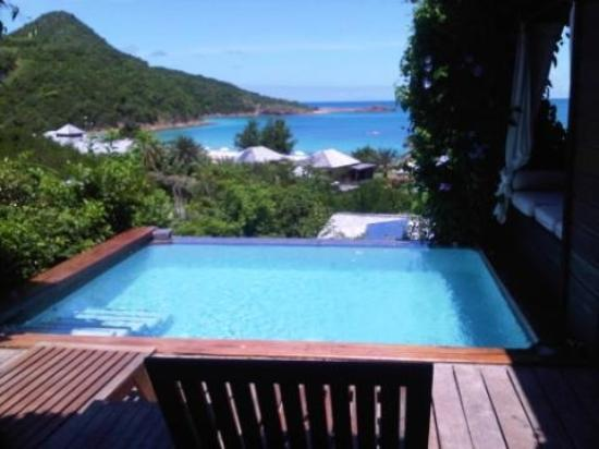 Hermitage Bay: view from our room