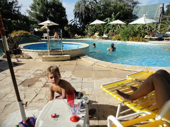 Hotel Palmar: piscina