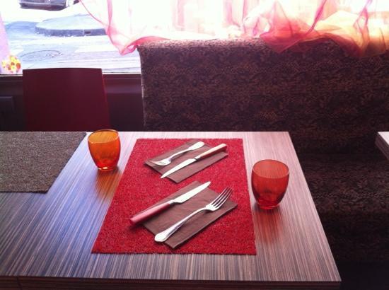La Table a Deniz: nouvelle deco....