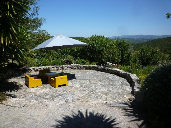 Villa Pedra Natural Houses: Seating area with great view