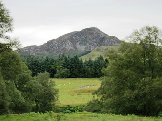 Kinbrylie: View across the glen