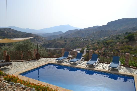 La Casa del Molinero: Heerlijk zwembad en prachtig uitzicht!