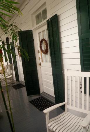 Casa 325: Zimmereingang, Veranda