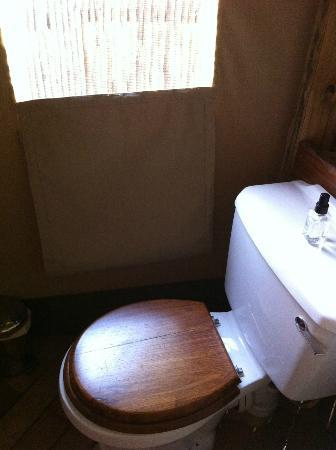 Wilderness Safaris Xigera Camp: Toilet room