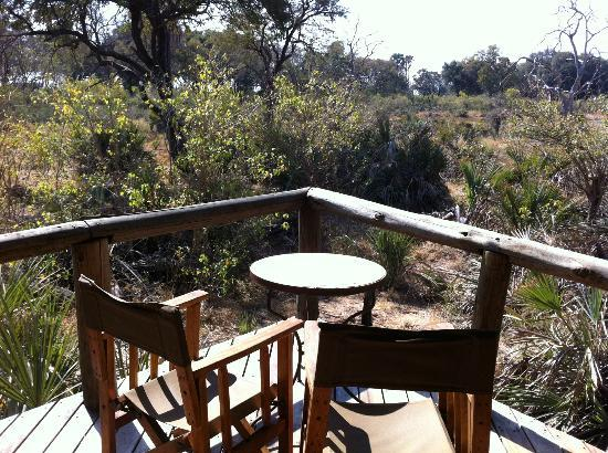 Wilderness Safaris Xigera Camp: view from the tent