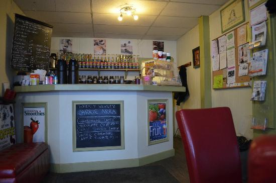 Inside The Red Brick Cafe & Gift House