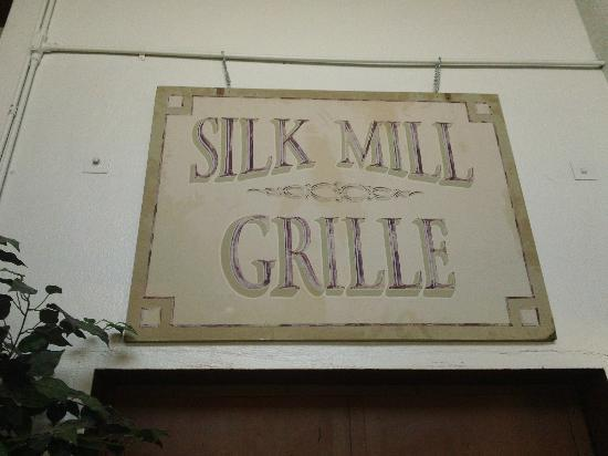 Silk Mill Grille: It really is an old factory mill