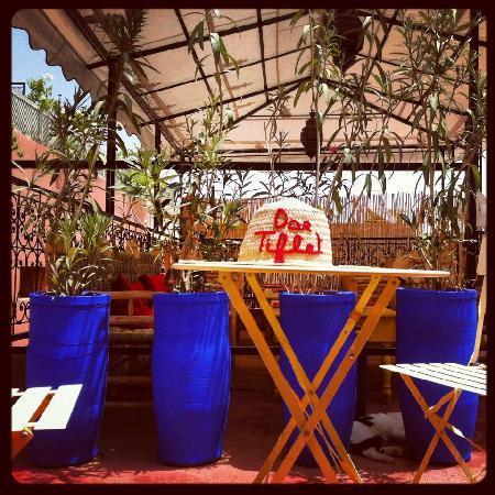 Riad Dar Tiflet : dartiflet terrasse 2012