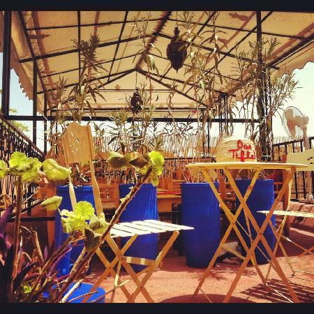 Riad Dar Tiflet: dartiflet terrasse 2012
