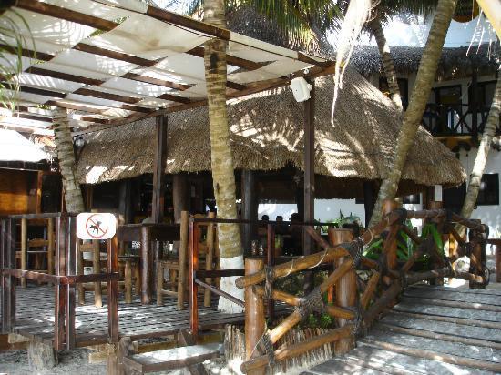 Beachfront Hotel La Palapa: il ristorante... CASA NOSTRA