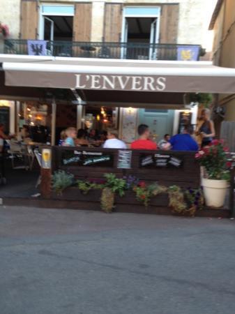 Restaurant L'Envers : l'envers