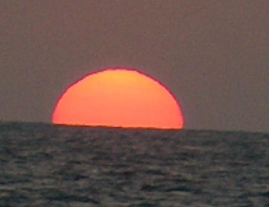 Siesta Beach: Sunset at Siesta key beach