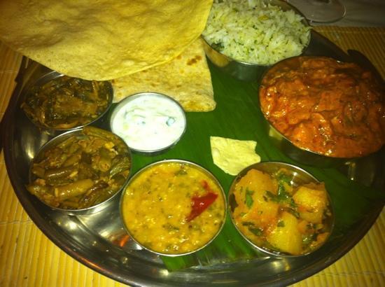 Rice & Spice: gorgeous chicken thali