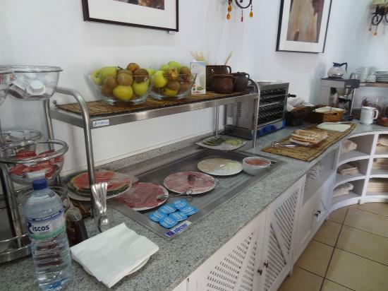 Santuario San Jose: Breakfast buffet