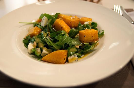Abajour cafe: Теплый салат с тыквой