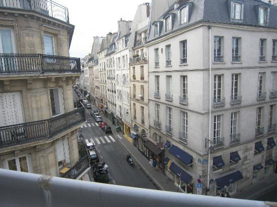 La Villa Saint-Germain: the view from my window