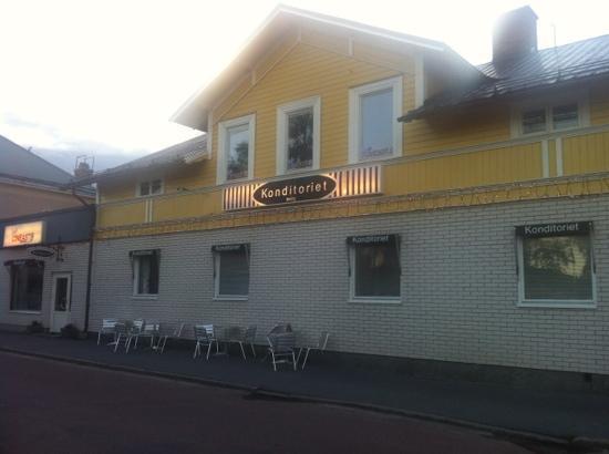 Cafe Cineast: konditorit i Sveg