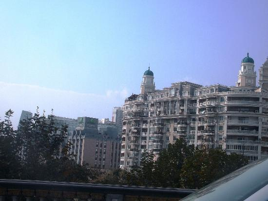 Jin Jiang Jin Sha Hotel: View from room at daylight