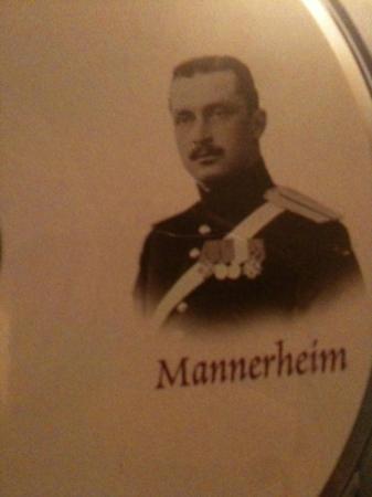 Musée de Mannerheim : a free info cd we also got to learn more about Finnish history
