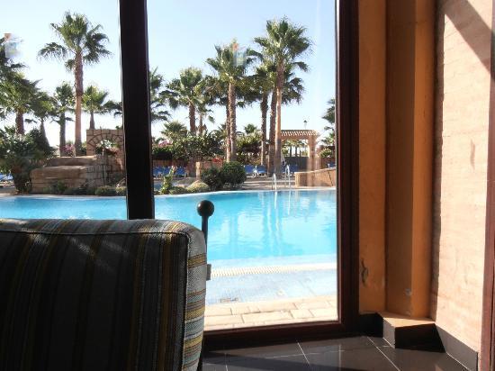 Playacanela Hotel : bar de recepción