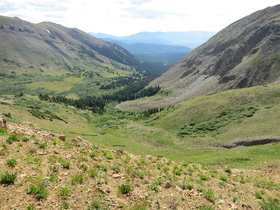 Boreas Pass Road: View beyond Black Powder Pass