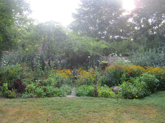 Nauset House Inn: Diane's perenial gardens