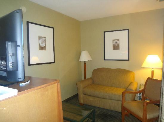 BEST WESTERN Royal Palace Inn & Suites: sofa bed room
