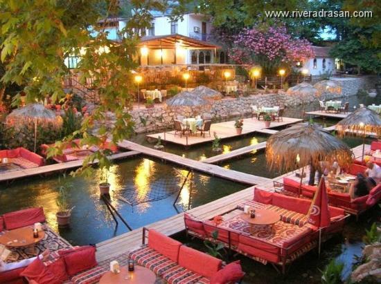 Adrasan River Hotel: River Hotel Restaurant