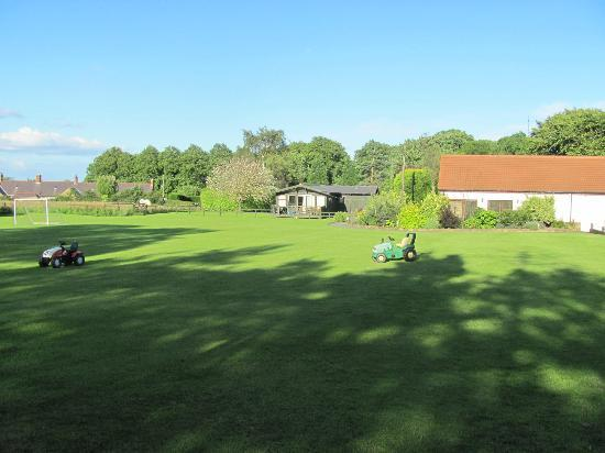Village Farm: Playing field