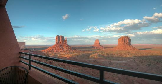 Monument Valley Navajo Tribal Park The View Hotel Private Balcony Off Of Every Room