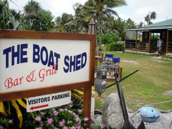 The Boat Shed Bar & Grill: Ingresso