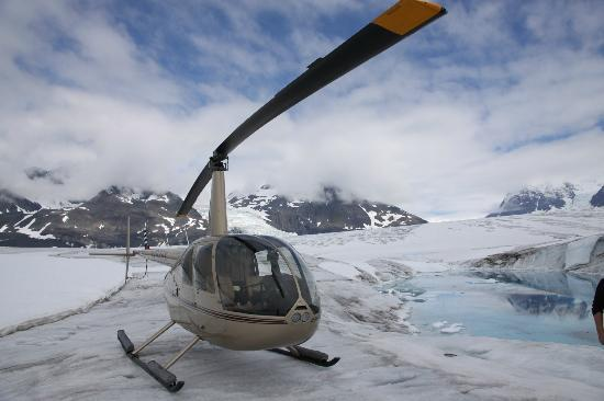VSHelicopters Tours: One of the landing spots for the Everything AND the Kitchen Sink Tour.