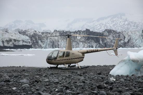 VSHelicopters Tours: A secret beach side landing spot