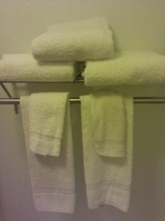 Extended Stay America - Memphis - Wolfchase Galleria: dirty towels