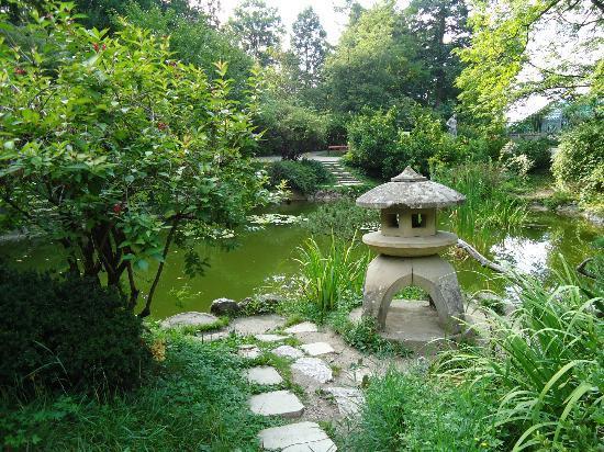 Vila Siago: Botanical Garden, 100 m away