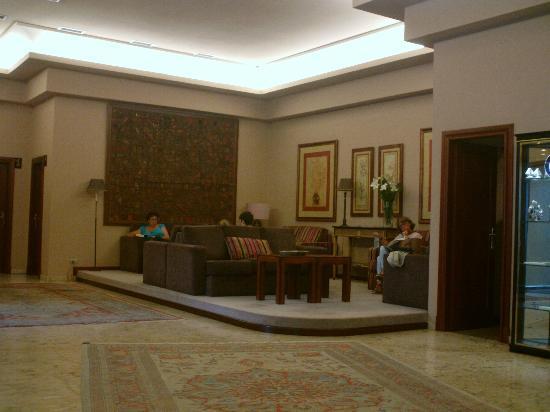 Coia Hotel: Zona de lectura