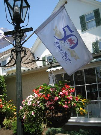Golden Plough Inn at Peddler's Village: Peddler's Village is celebrating their 50th year this year