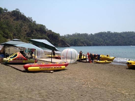 Gunluklu Pansiyon: beach