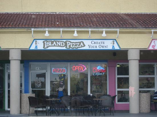 Island Pizza: The Storefront to look for