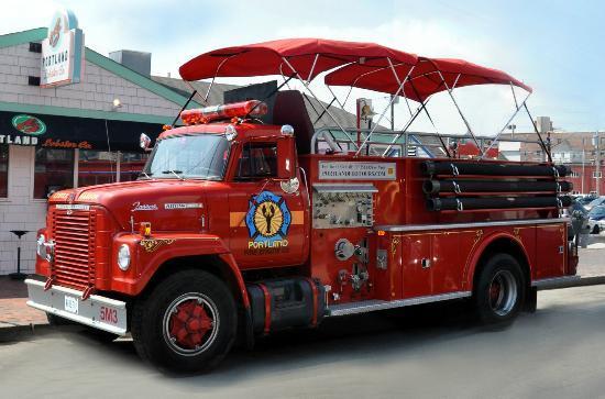 Fire Engine Tours Portland Me