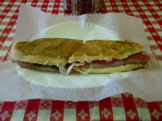 Italian Lover's sandwich at Anthony's Italian Deli, Baton Rouge