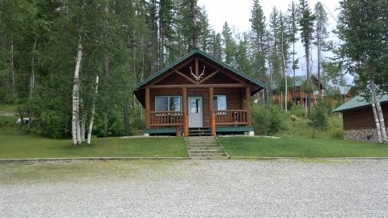 Glacier National Park Cabins & Lodging: 1 Bedroom Cabin at Glacier Outdoor Center