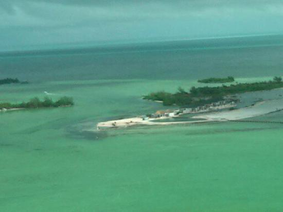 Las Terrazas Resort: View from plane