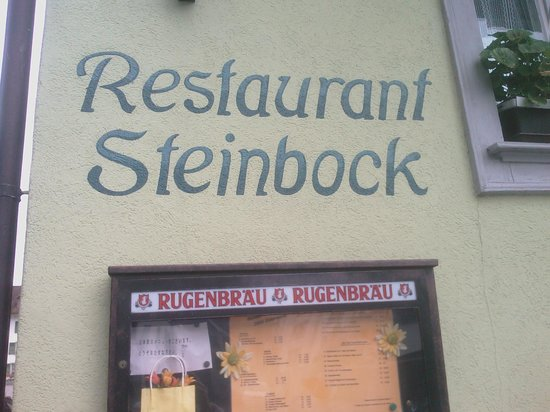 Steakhouse Steinbock: il ristorante