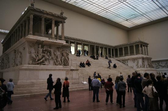 L 39 altare di pergamo foto di museo di pergamon berlino - Porta di mileto ...
