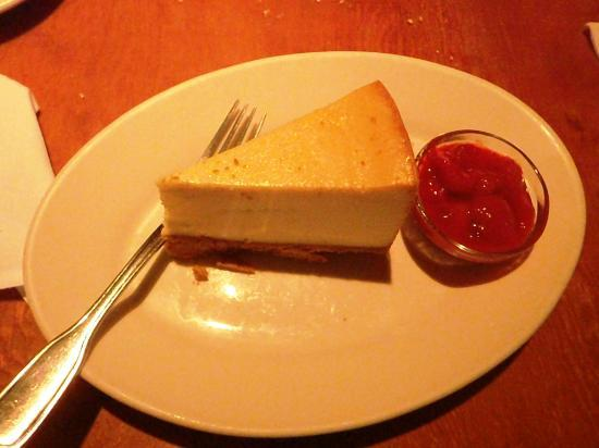 Black Angus Restaurant : Cheesecake