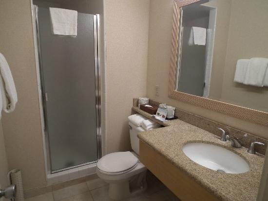OHANA Waikiki East Hotel: Very small shower.