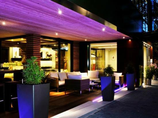 Hotel Central Hof . Partner of SORAT Hotels: Terrassen-Lounge