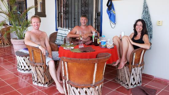 Hotel La Quinta del Sol : we met another lovely couple! :)