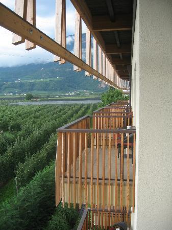 Napura Art & Design Hotel: Balkon